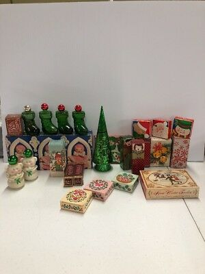 Vintage Avon Christmas Lot Of 25