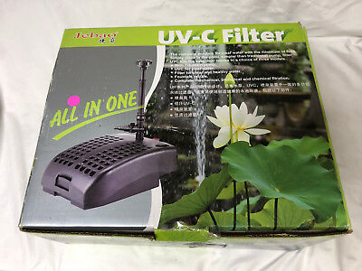 Jebao UIF-2000 All-in-One Fish Pond Filter  FOR PARTS PLEASE READ