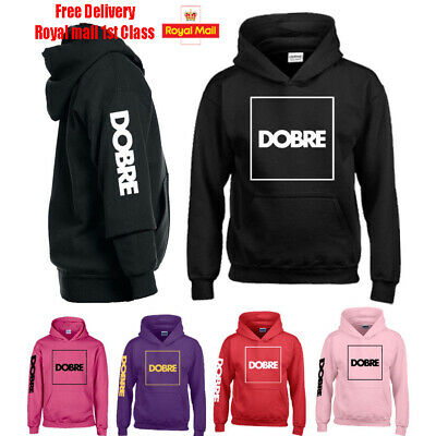 DOBRE Brothers Team Kids GIrls Hoodie top Youtube Music Dance DJ.Gift Birthday