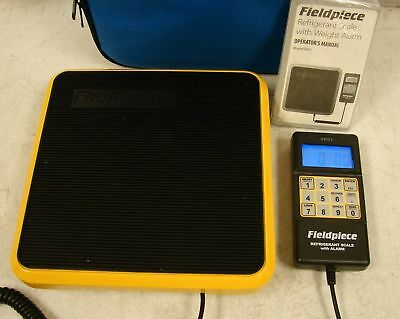 Fieldpiece Light Commercial Refrigerant Scale SRS1 with Weight Alarm