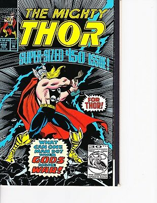 Thor #450 Super Sized Issue! Wraparound Cover FREE SHIPPING AVAILABLE!