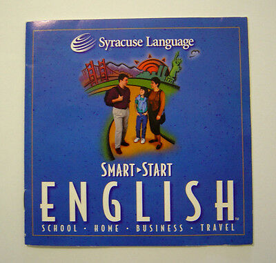 Smart Start English CD From Syracuse Language With Manual
