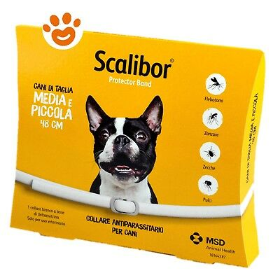 Collare Scalibor Media Piccola 48 Cm / Cane Antiparassitario Cani