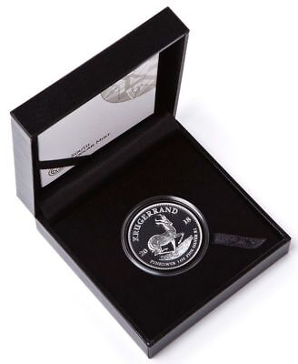 2018 1oz Silver PROOF Krugerrand Only 15000 Minted (Box & COA)