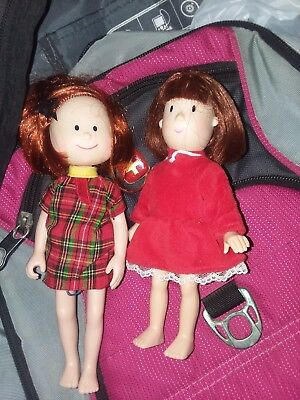 Madeline And Friend Dolls