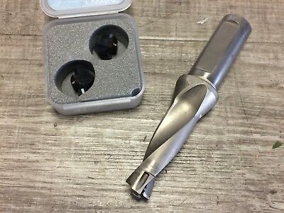"""Ingersoll Indexable Coolant Fed Drill .63 """" W/ 3/4 """" Shank"""