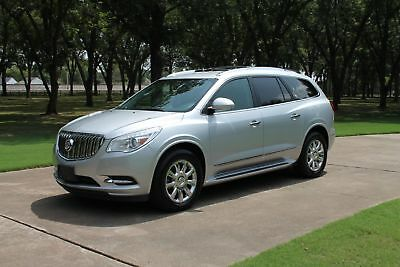 2013 Buick Enclave Premium   MSRP New $50030 2 Owner Non Smoker Heated and Cooled leather Seats TV/DVD Michelin Tires