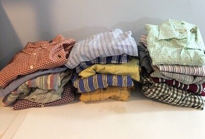 Lot of 15 Men's Shirts Wholesale Reseller Resell Clothing Used Sell