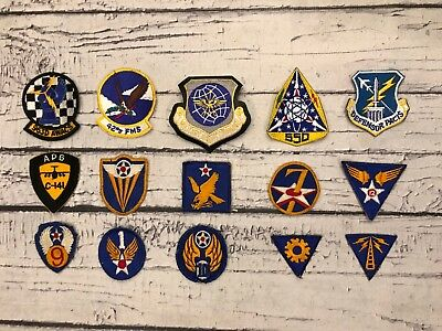 Vintage WW2 & Modern Army Air Force Patch Lot