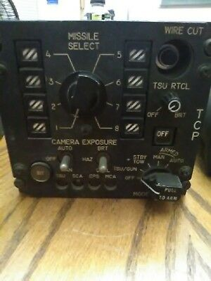 Bell helicopter. xm65 tow control. Huey Missile control module.