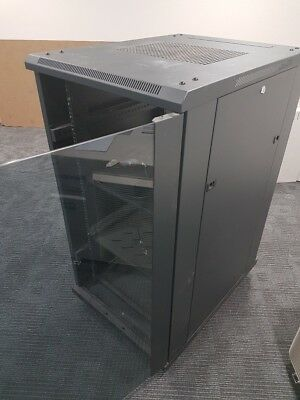 22RU Data Comms Cabinet 600Wx800Dx1100H, Includes White Cabinet as well,.