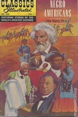 Classics Illustrated 169 Negro Americans the Early Years #2 1969 GD/VG 3.0