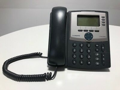 4 Linksys IP Phone SPA942, used working and in good condition, factory settings