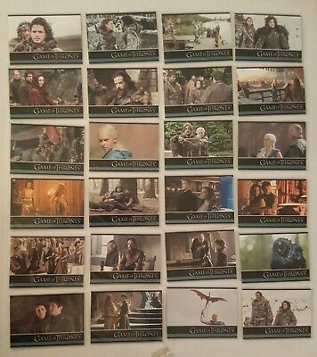 GAME OF THRONES Season 3 Complete Base Set 98 Trading Cards 2014 Rittenhouse