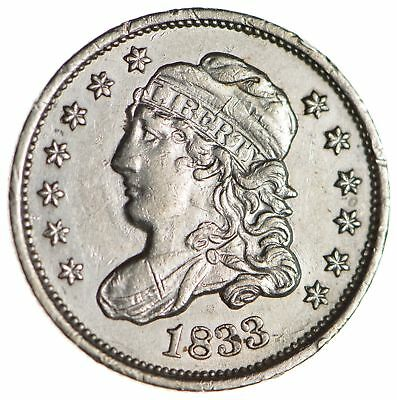 1833 Capped Bust Half Dime - Circulated *1704