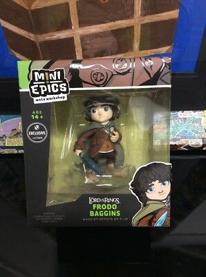 👀mini Epics The Lord Of The Rings Frodo Baggins Exclusive Nib Nm+