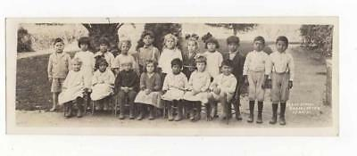 1921  Los Angeles Rare Mexican American Indian ? Children Orig Photo