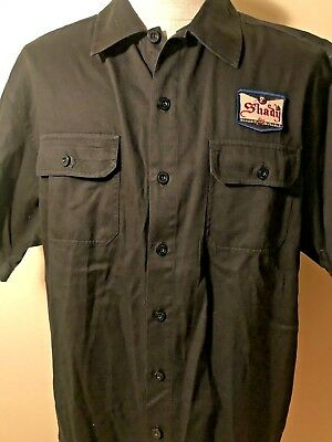be0e30d55d1 Shady Brand Limited Edition Black Button Up S S Shirt Eminem Size XL
