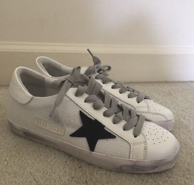 a4dd8d13b7e5 Golden Goose Deluxe Brand SUPERSTAR   Leather   Mesh Sneakers  445 sz 40 us  10