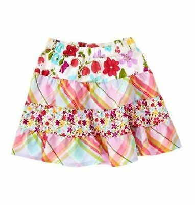 NWT Crazy 8 Girls Floral Tiered Skirt Size 12-18 Months