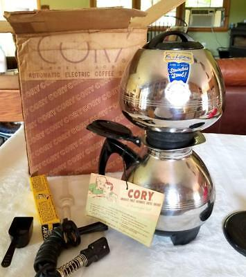 Corry Vacuum Coffe Maker  Brewer Never Used Model ACB-3 Original Box