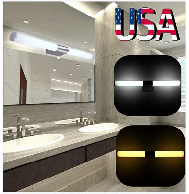 Modern Bathroom LED Mirror Light Front Wall Lamp Fixture Vanity Lights Fixture