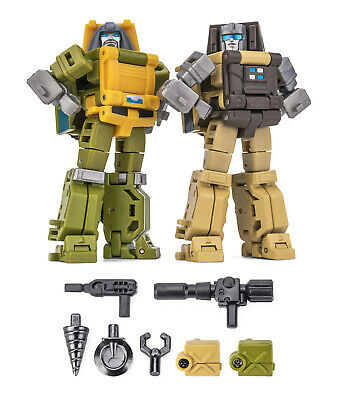 NEWAGE Toys Transformers Mini Warrior Heroes 01 H1K Critter BugBite In Stock