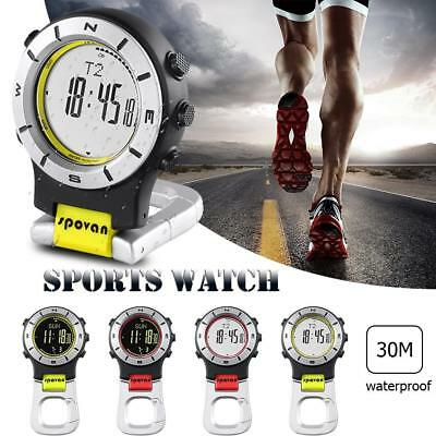 Outdoor Sports Digital Waterproof Watch Altimeter Barometer Thermometer Compass