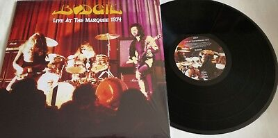 LP BUDGIE Live At The Marquee 1974 ATOS RECORDS atos 3 - STILL SEALED