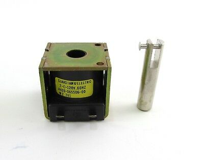 Guardian Electric Solenoid Z-Cont-120A 60 Hz Continuous Duty 5945-00-258-1702