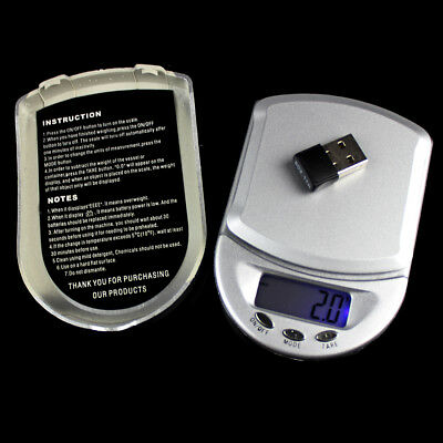 200g/0.01g LCD Digital Jewelry Scales Precision Portable Pocket Weight Balance