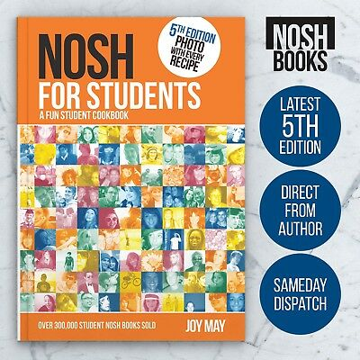 NOSH for Students - A Fun Student Cookbook - Latest 5th Edition
