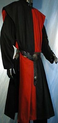 Medieval tunic Black&Red Movie Theater Padded super Clothing armor making vest