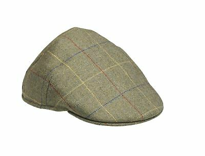Laksen Woodhay Tweed Balmoral Cap