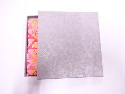 11732# Japanese Tea Ceremony / New! Fancy Box For Dashifukusa (Silk Cloth) / Kin