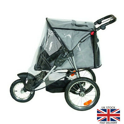 Karlie 31616 Sport Buggy for Dogs Pets Black/Grey Stroller Pushchair  Travel