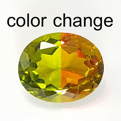 7.38 Cts Extreme Rare Top Clean Huge Color Change Natural Diaspore