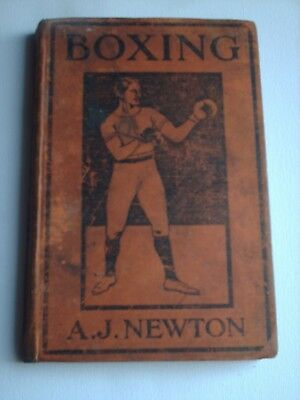Rare A J Newton Boxing 1919 With A Section On Single Stick Illustrated Book