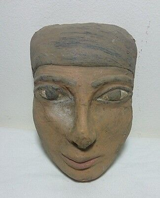 ANCIENT EGYPTIAN ANTIQUE NEFERTITI Face Limestone 1752-1720 BC