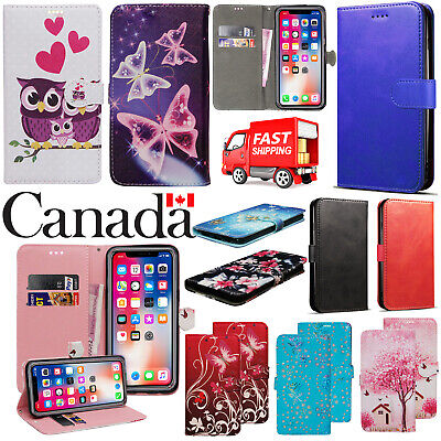 For Apple iPhone 7 8 Plus XR XS 11 Pro Max Leather Flip Wallet Phone Case Cover