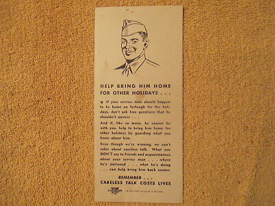 WW 2 Flyer U S Army Nurse Corps Our Hospitals Need More Help Free Shipping