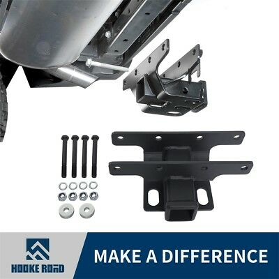 "2"" Steel Towing Rear Trailer Receiver Hitch for 07-17 Jeep Wrangler JK&Unlimited"