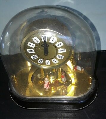 """Staiger Plastic Dome Carriage Mantle Clock 6"""""""