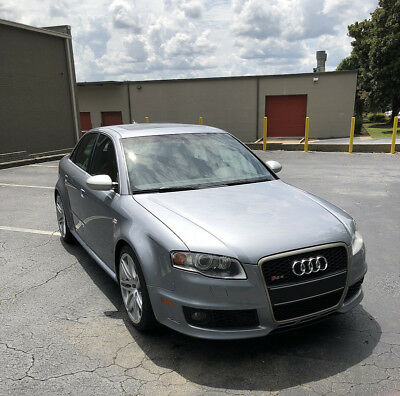 2008 Audi RS4  2008 Avus Silver RS4
