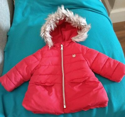 Zara baby girl jacket age 6 to 9 months