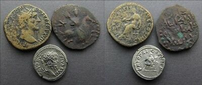 +++ Lot Of 3 Coins (Attributions In Description) +++