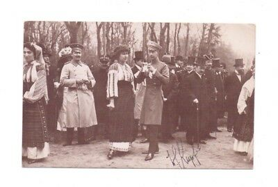 Signed Postcard ? Prince or King or Officer  Romania - Maier & D Stern Bucuresti