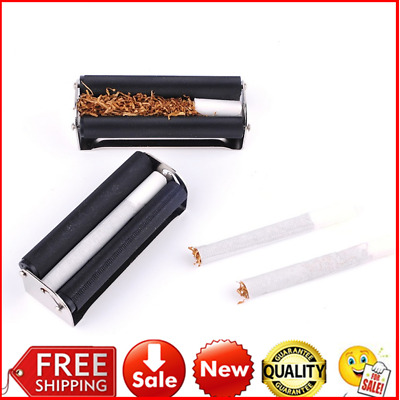 70MM Easy Use Manual Cigarette Rolling Machine Tobacco Injector Maker Roller ~#