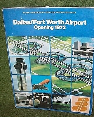 Vintage Dallas/Fort Worth Airport Opening 1973