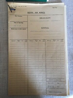 Documents Royal Air Force 1942